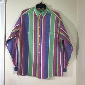 Men's Vintage Striped Button Down by LizClaiborne